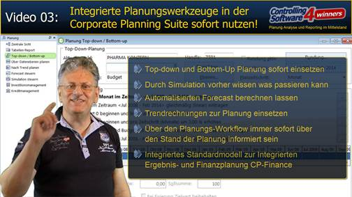 Video 3: Forecastplanung und Planungs-Work-flow